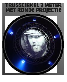 trusscirkelmetprojectie